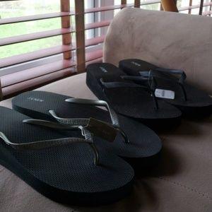 J Crew flip flop size 10 bundle
